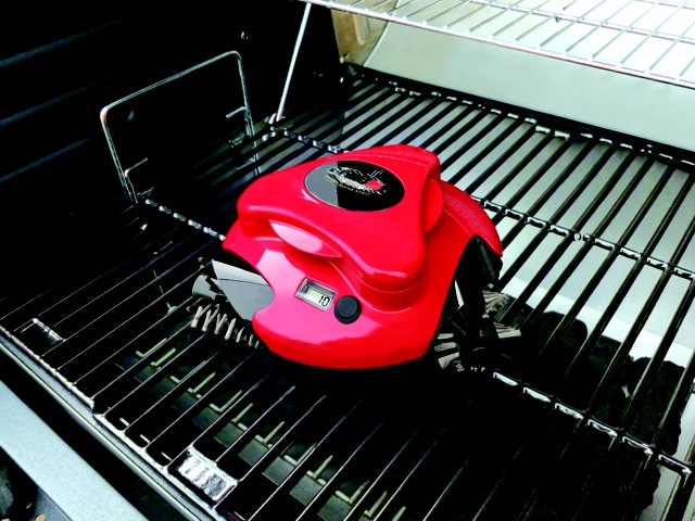 The Grill Cleaning Robot from Hammacher Schlemmer $119