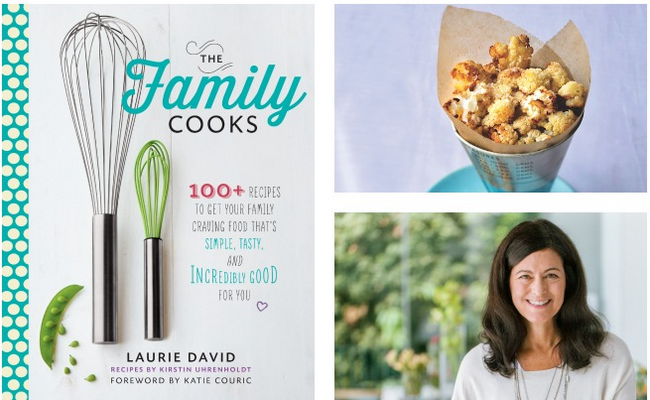 The Family Cooks  by Laurie David, $21..25