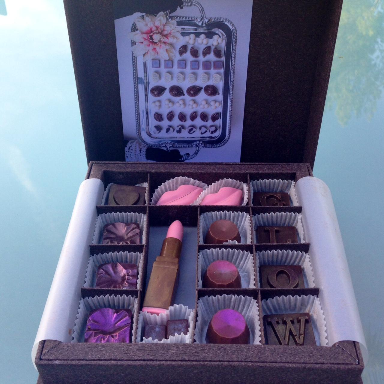 Maggie Louise Chocolates Gift Boxes   GLOW Chocolate Charm Box, $45