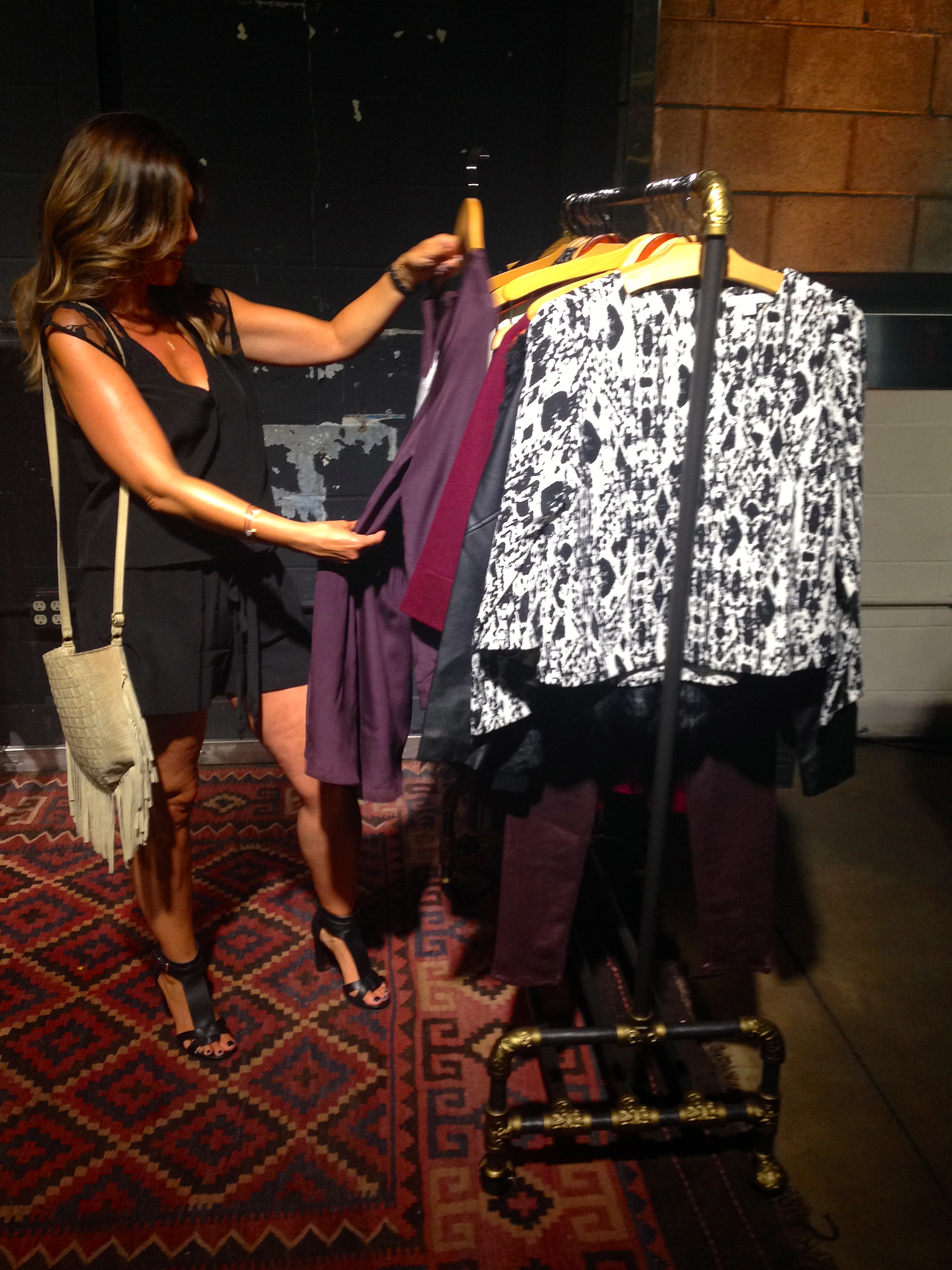 Checking out  Piperlime's  new line at the launch event. I found the new collection to be diverse and on-trend!