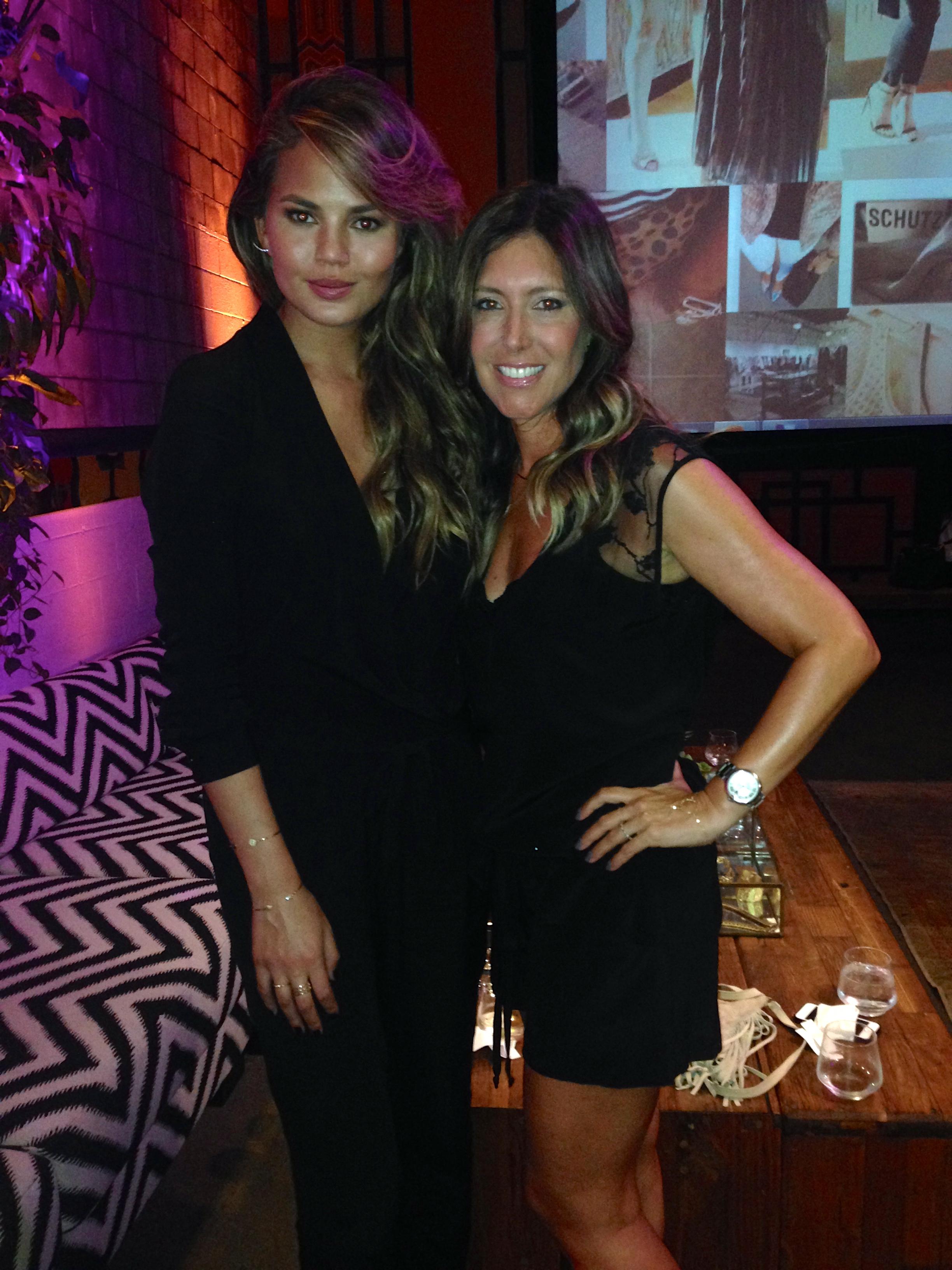 With beauty Chrissy Teigen!