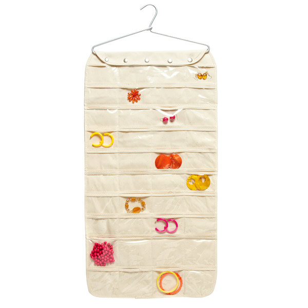 The Container Store 80-Pocket Hanging Jewelry Organizer , $24.99
