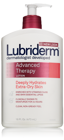 Lubriderm Advanced Therapy Lotion, $9.00 for 24 oz