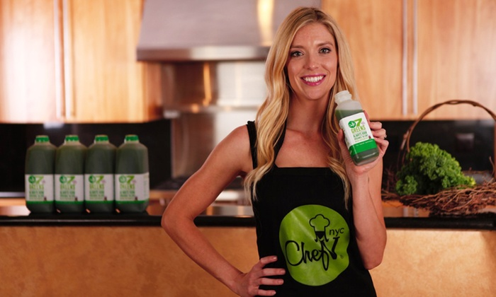 Chef V's Detox and Green Drink Available Here