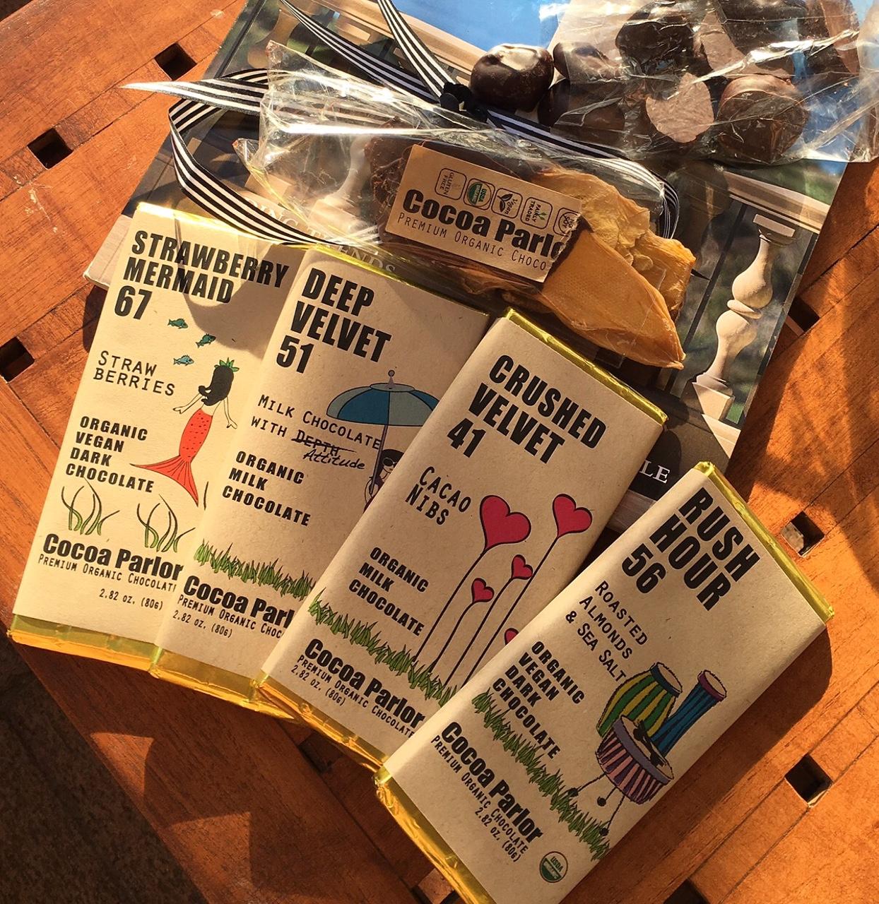 Cocoa Parlor Organic Chocolate