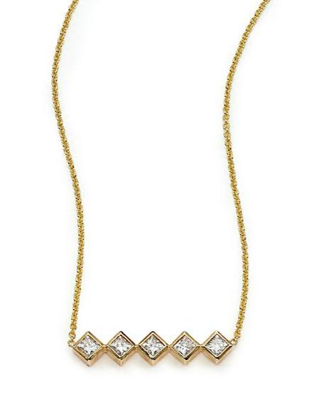 Zoe Chicco Bar Necklace