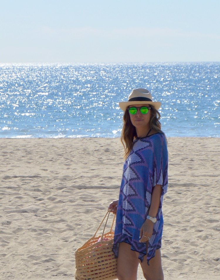 Melissa Meyers Cali Beach Cover Up & Tote