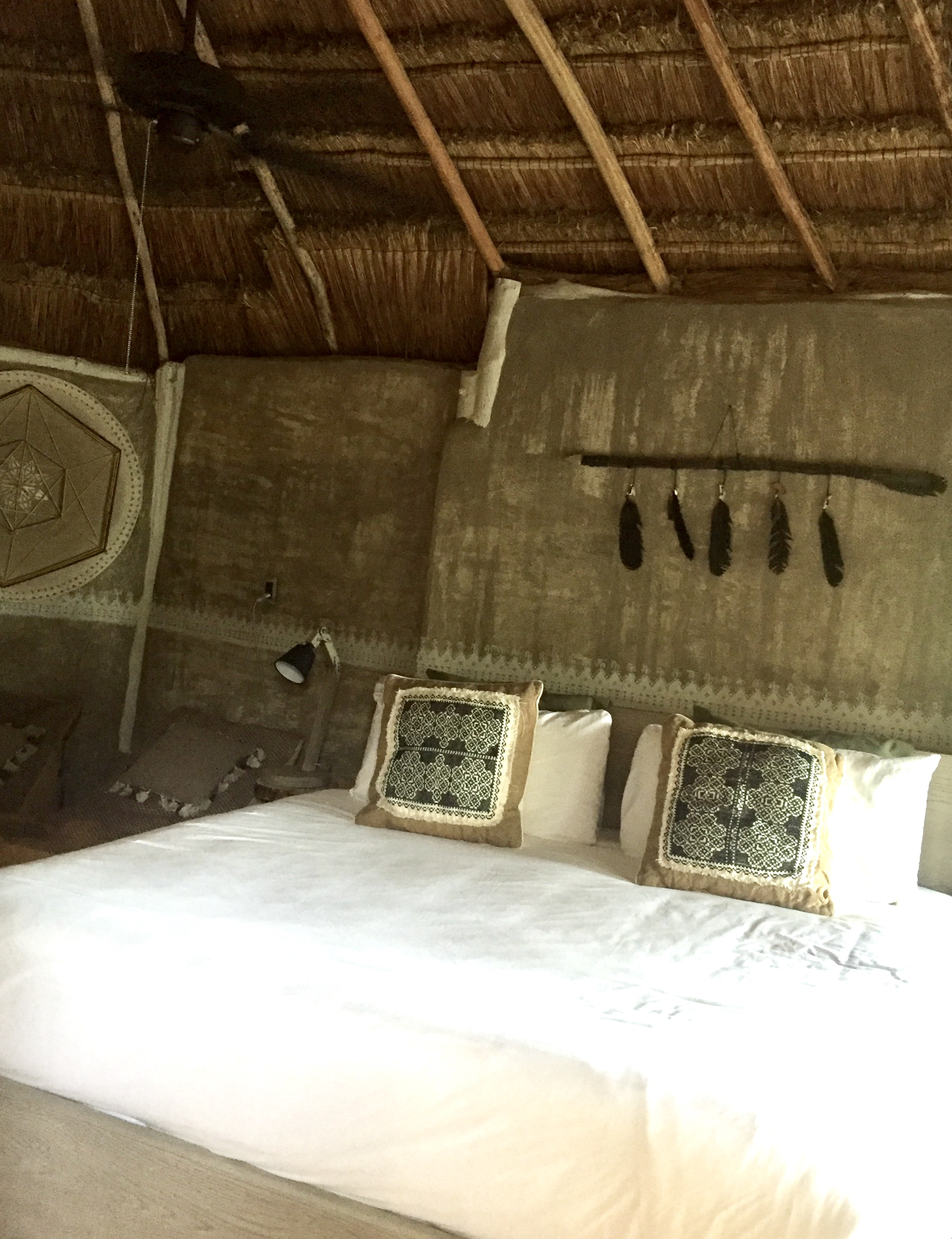 Our room at Nomad Tulum.