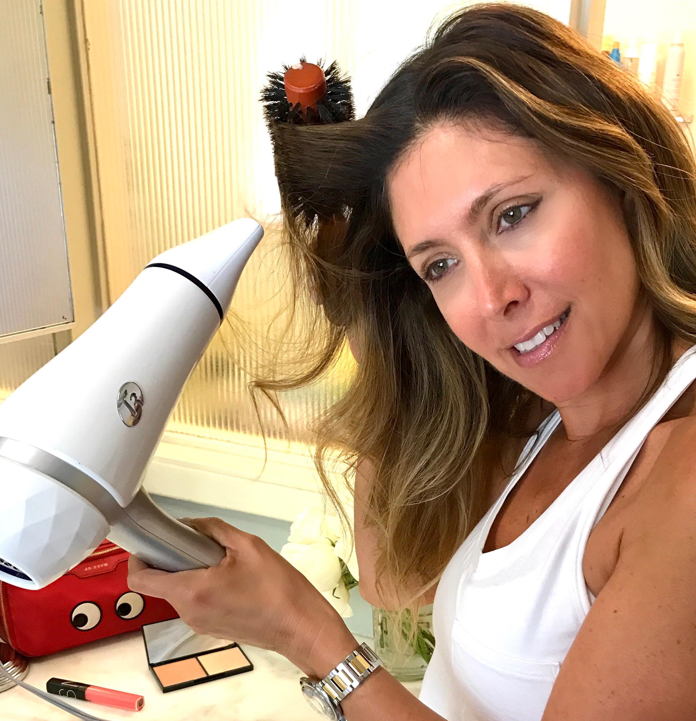 Melissa Meyers + T3 Blowdryer
