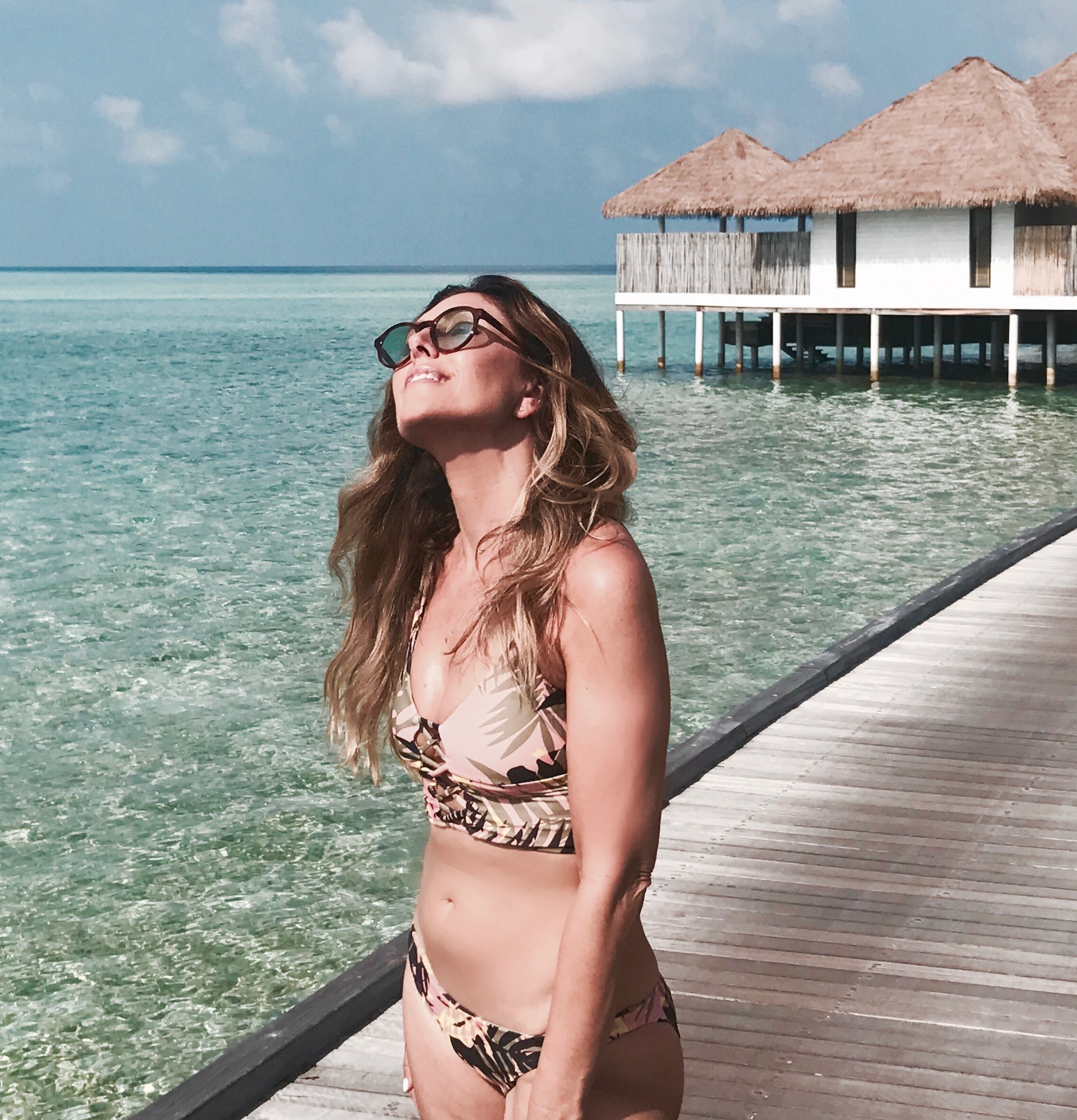 Melissa Meyers + sunscreen
