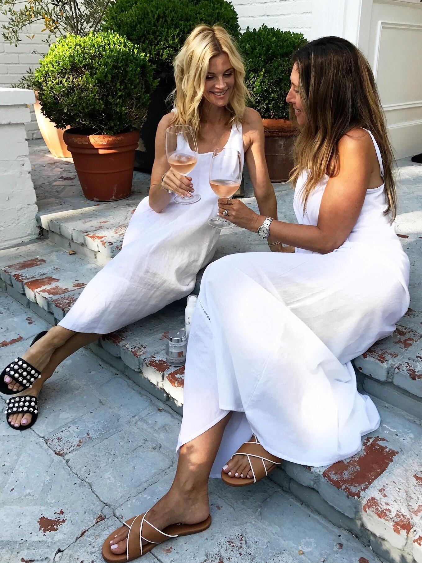 Melissa Meyers White Dress