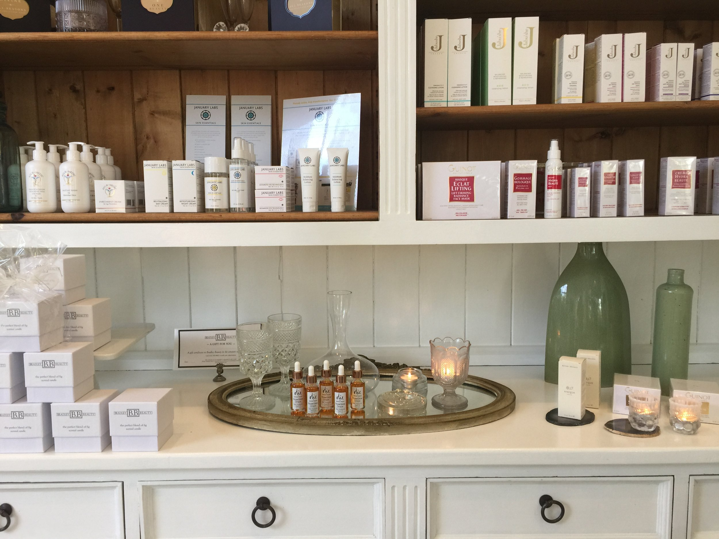 RoseGlow Drops at  Bradley Beauty  in Los Angeles. Photo courtesy of Heather Bradley.