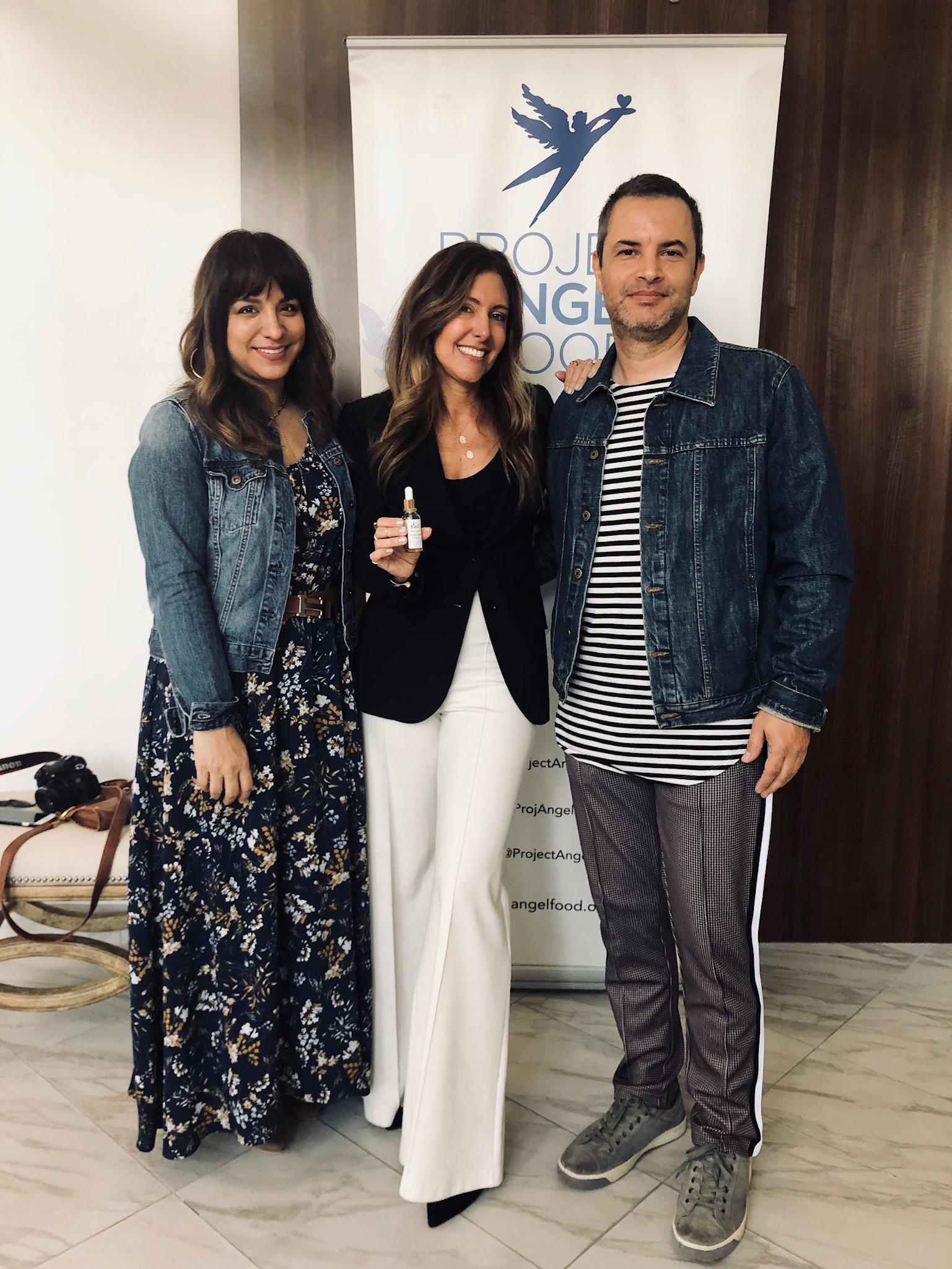 Influencers   Rossana Vanoni   and   Douglas Lagos