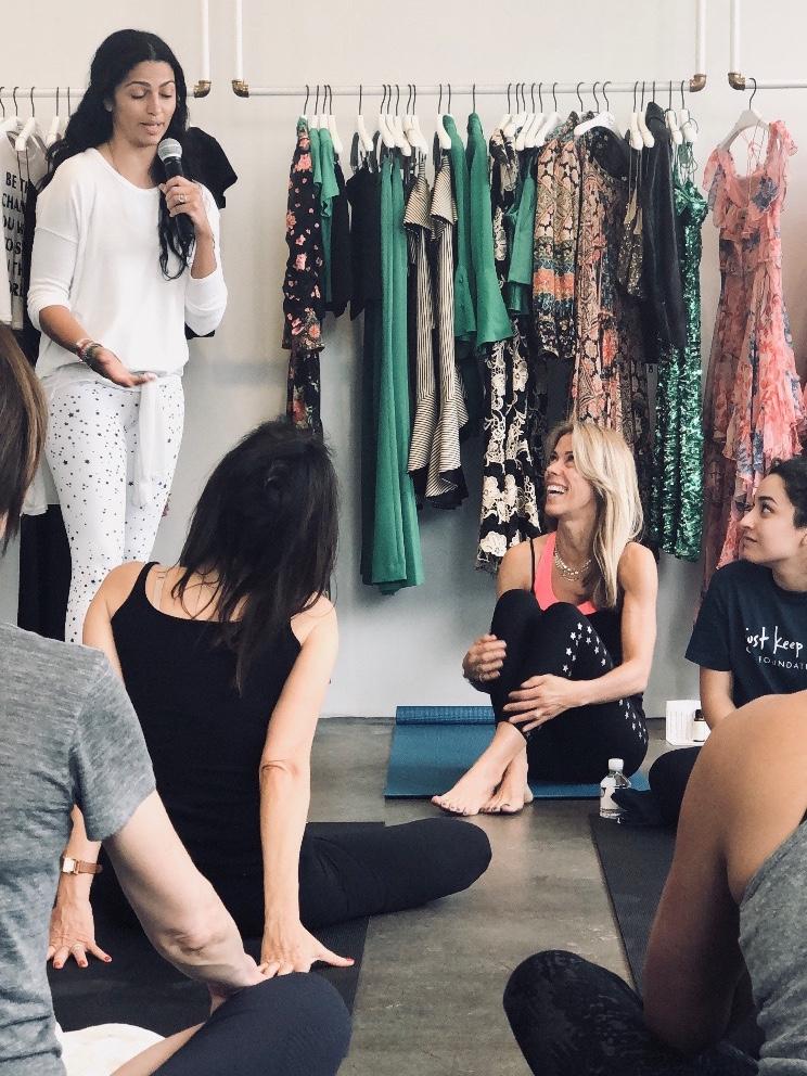 Kirschen Hagenlocher  , celebrity yoga teacher