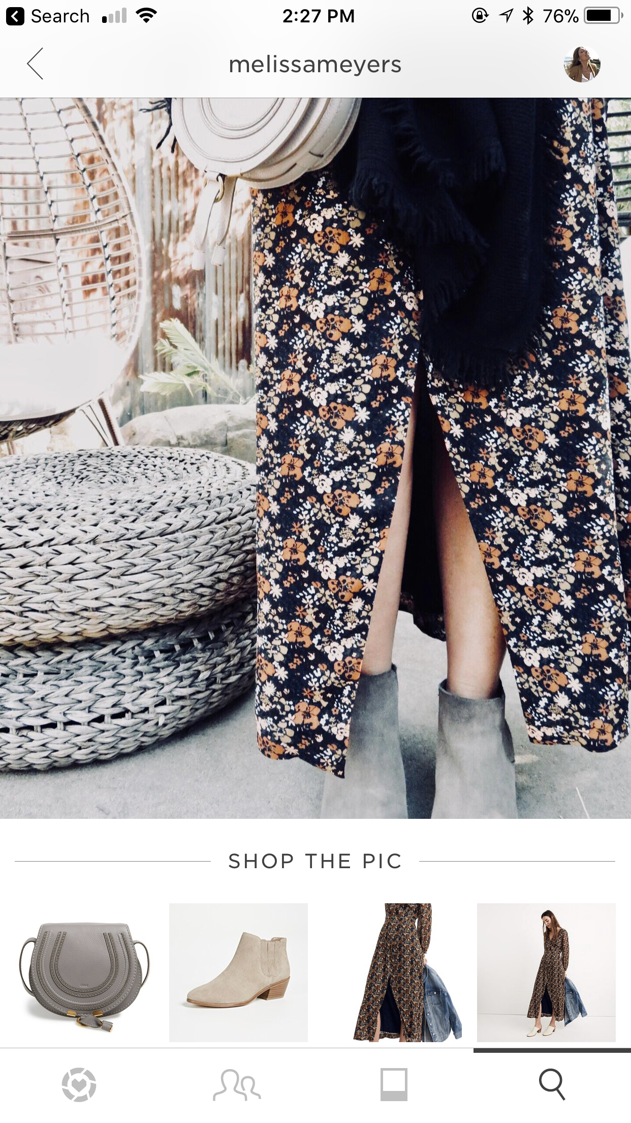 - 5. Whenever I post a picture you can screenshot the photo and it will send it directly to the app for you to shop! You can also sign up for LIKEtoKNOW.it emails and my outfits or product picks will be sent directly to your inbox! It's that easy!