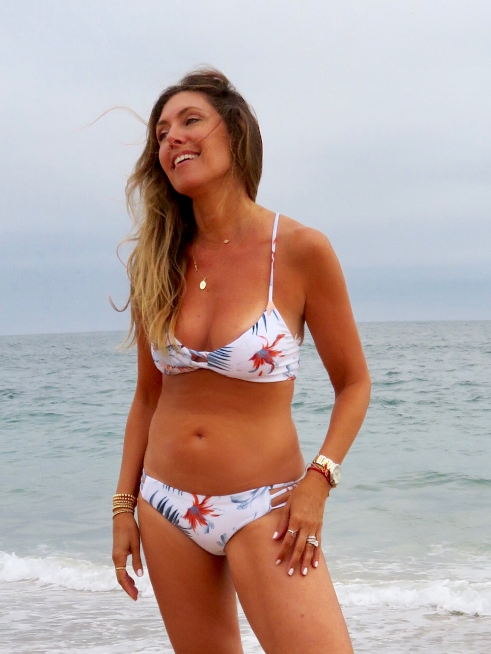 L*Space Bird of Paradise Swim Suit . Available in a one-piece  here !