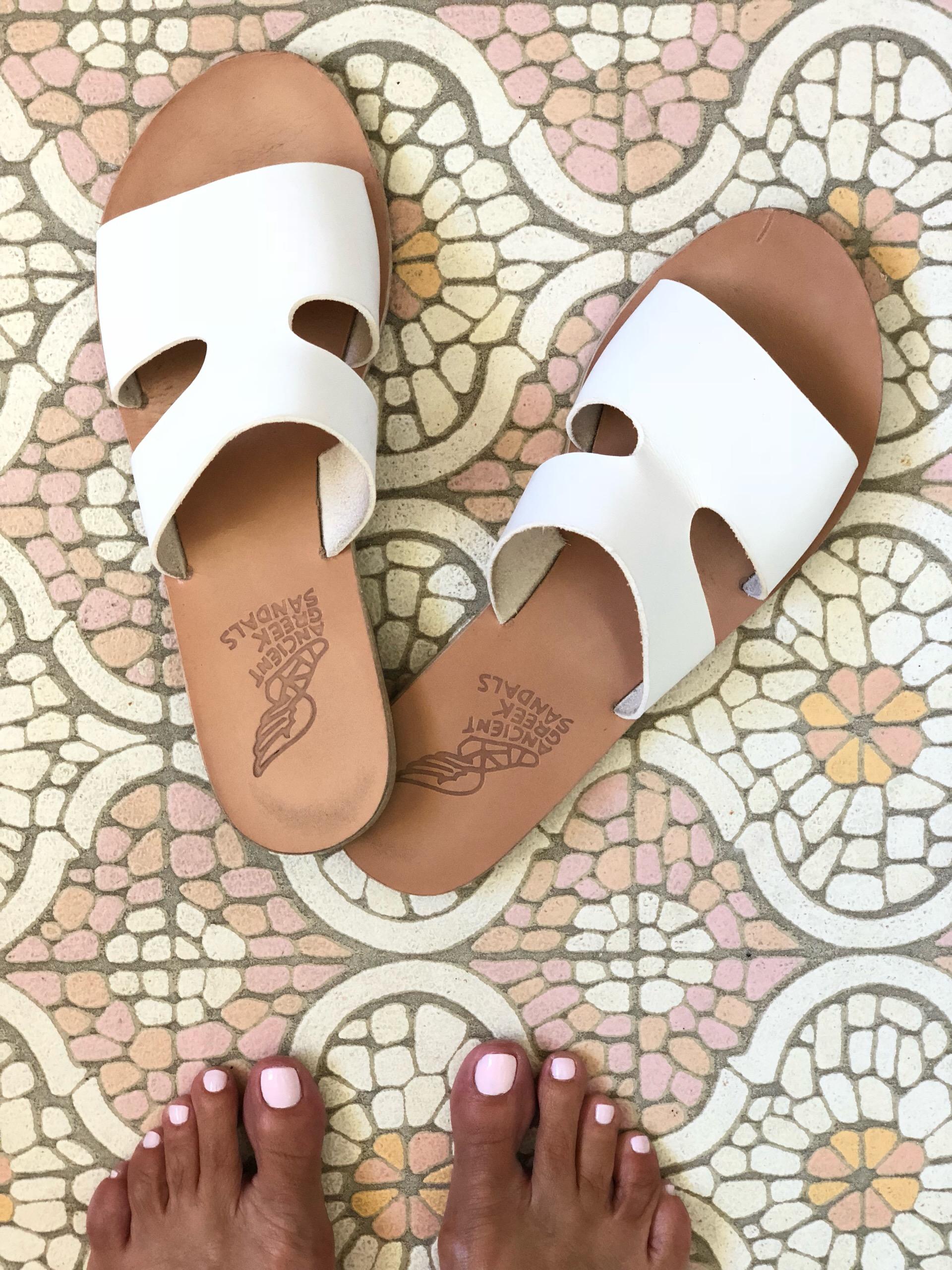 Sandals:  Ancient Greek Sandals