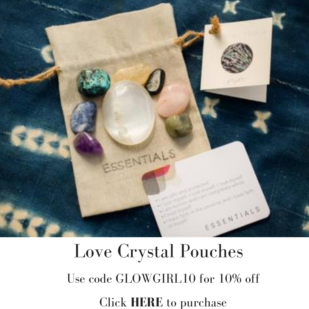 Melissa Meyers + Love Crystal Pouches