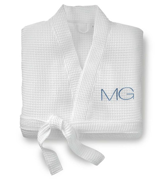 5. Personalized Waffle Weave Robe
