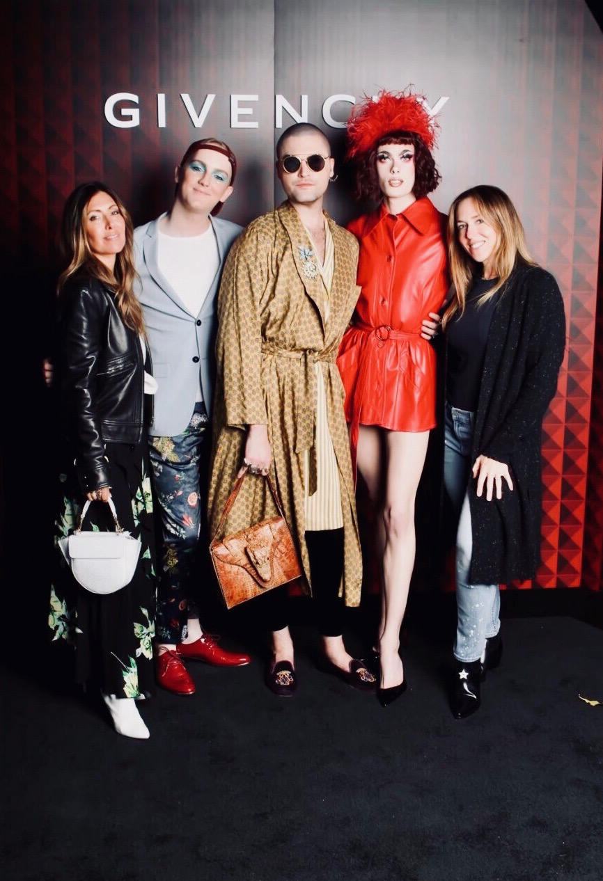 With beauty gang and Jen Beerman at the Givenchy Beauty Launch party co-hosted by  Dawn McCoy !