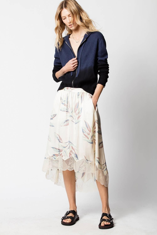 Zadig & Voltaire Joslin Paradise Skirt ($245)