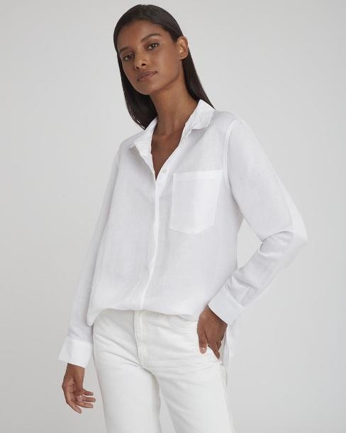 Cuyana Linen Boyfriend Shirt ($135)