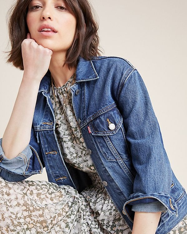 Levi's Ex-Boyfriend Denim Trucker Jacket