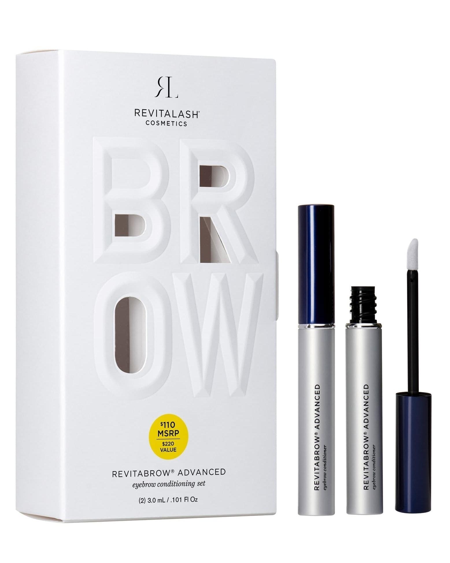 RevitaLash® RevitaBrow® ADVANCED Eyebrow Conditioner Duo ($220)  $110