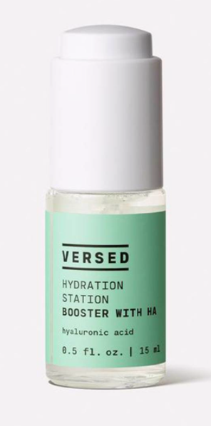 Versed, Hydration Station Booster with Hyaluronic Acid.