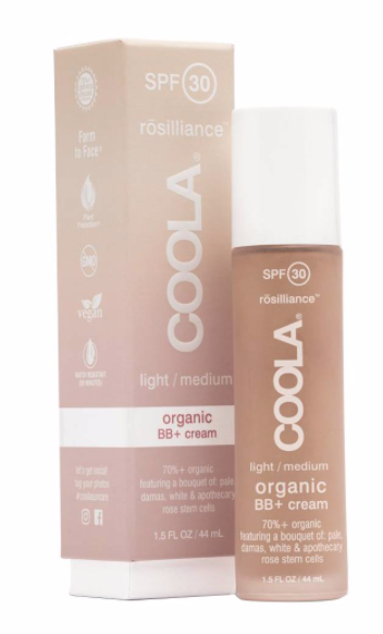 Coola, Organic Face SPF 30 Rosilliance BB+ Cream.
