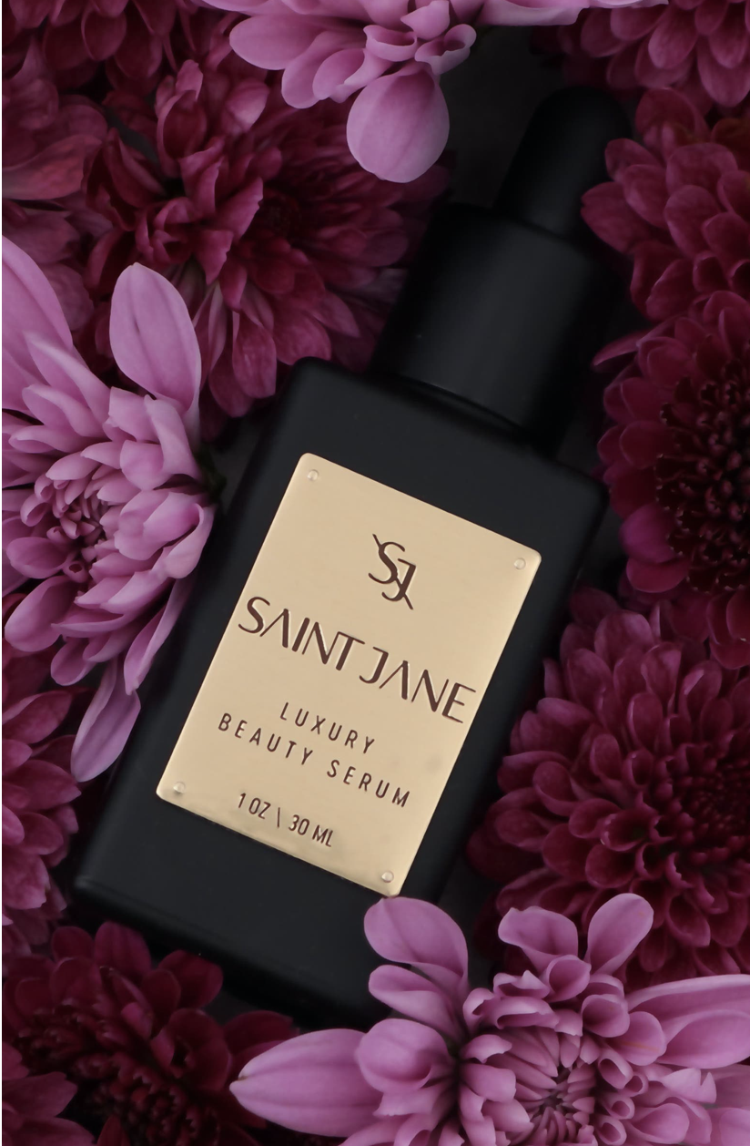Saint Jane Luxury Beauty Serum  - A multitasking treatment for fine lines, redness and skin stressors formulated with 20 potent botanicals to calm, purify and nourish.