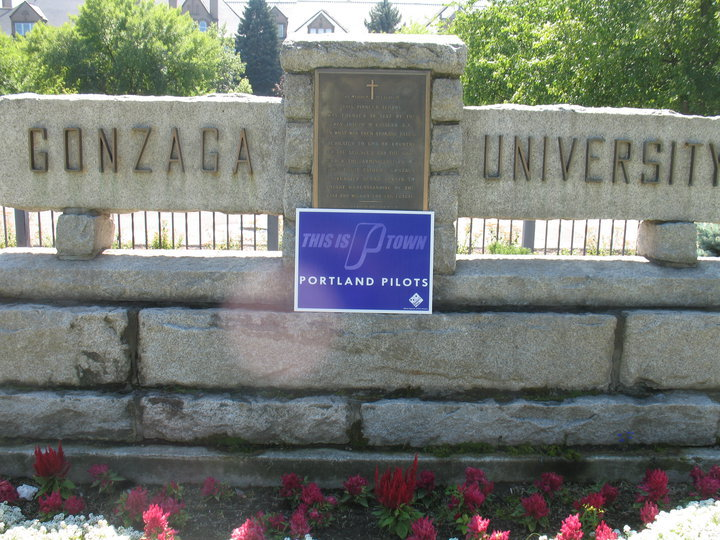 Take that Zags! This picture got more likes on Facebook than just about anything I've posted in the past three years.
