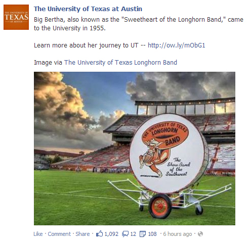 Everything's big in Texas. Especially drums, apparently.