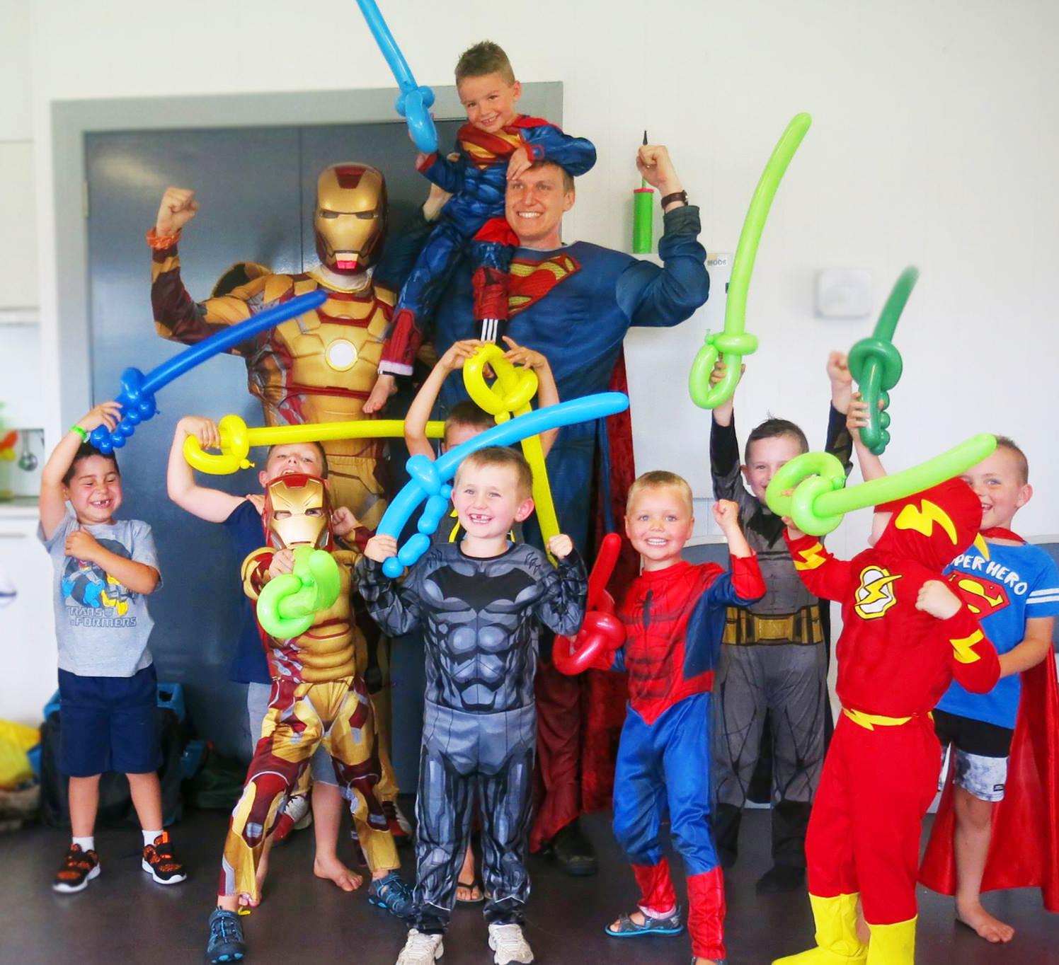 Super Heroes Superman and Ironman Blake and Shaun.jpg