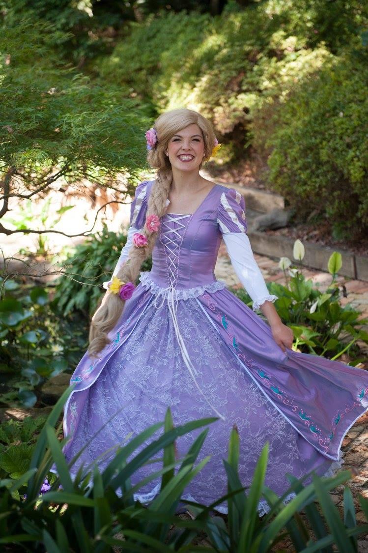 Princess Rapunzel  the Purple Princess
