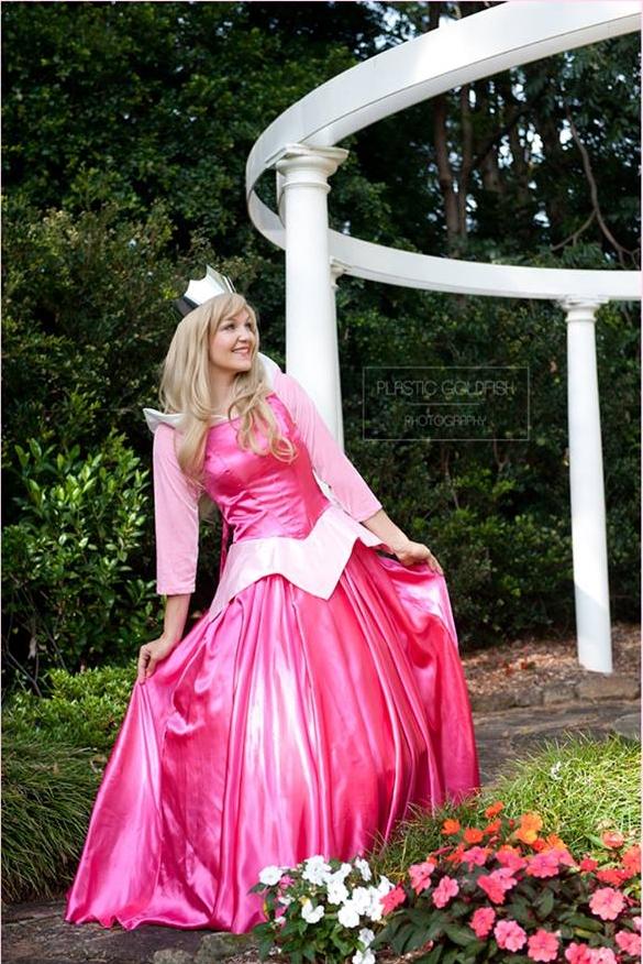 Princess Aria  the Fuschia Pink Princess