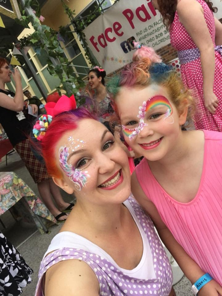 Face Painting Design Rainbow and Flowers.jpg