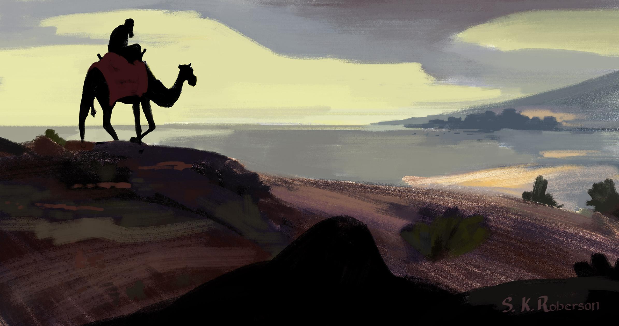 Jonah Fleeing to Joppa
