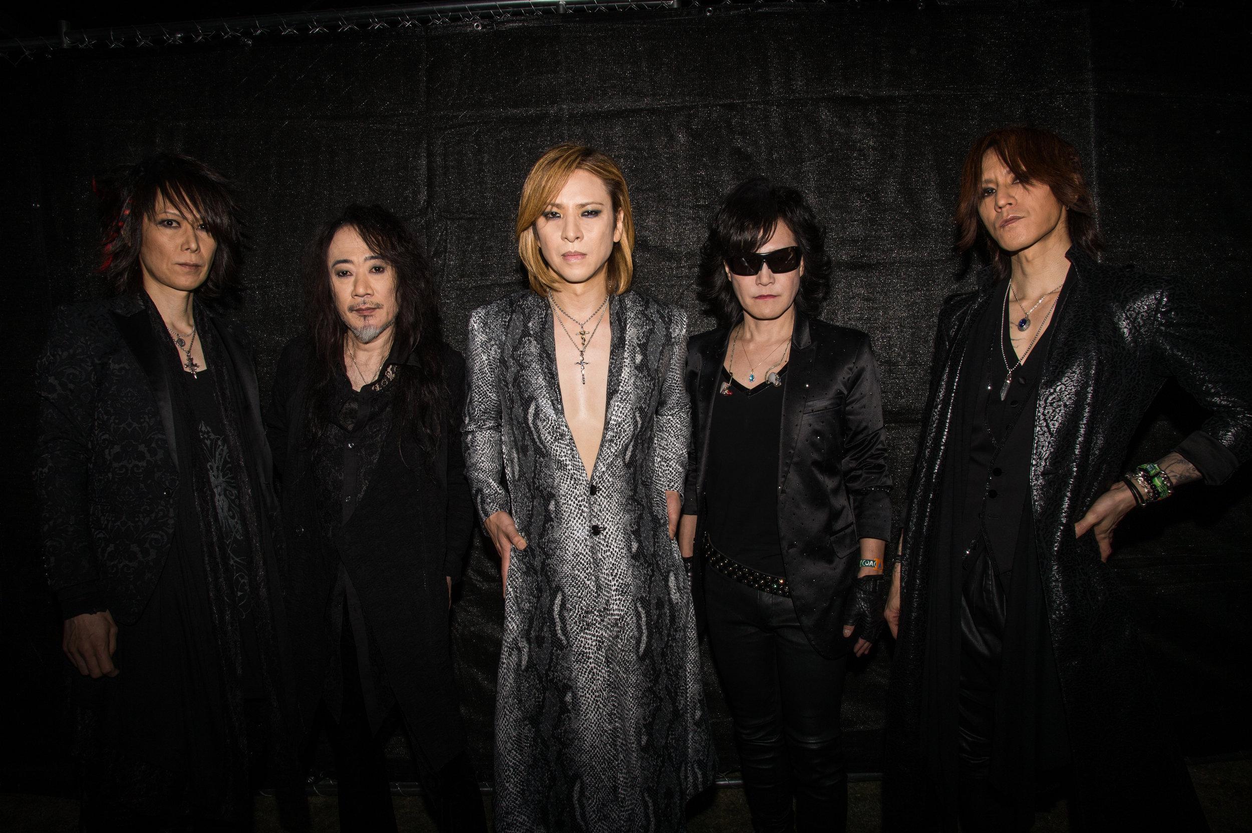 X Japan - Photo courtesy of Prime PR Group, INC