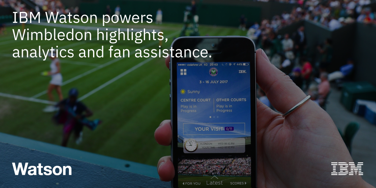 Wimbledon and IBM collaboration : Courtesy of Elizabeth Kiehner