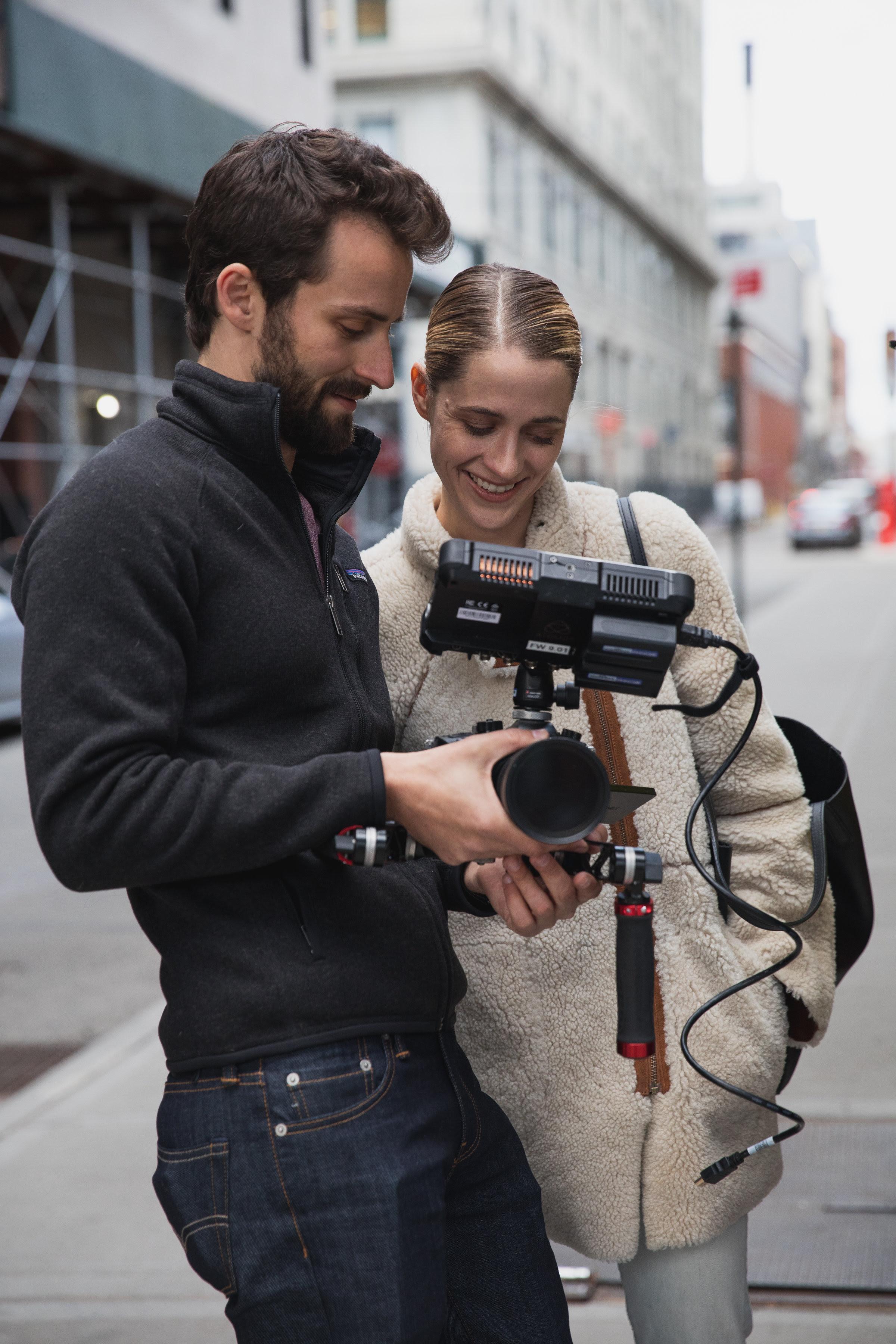 Jesse Newman (director) and Kaela Hill (producer)  - Photo Credit Vladimir Weinstein