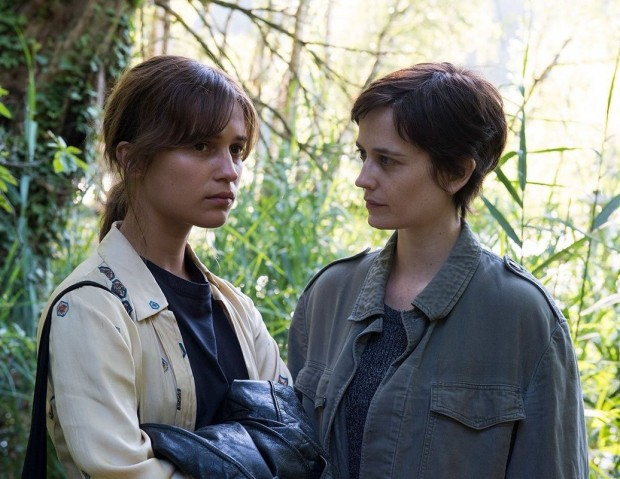Alicia Vikander plays Ines on left and Eva Green plays Emilie on right  Photos courtesy of Production