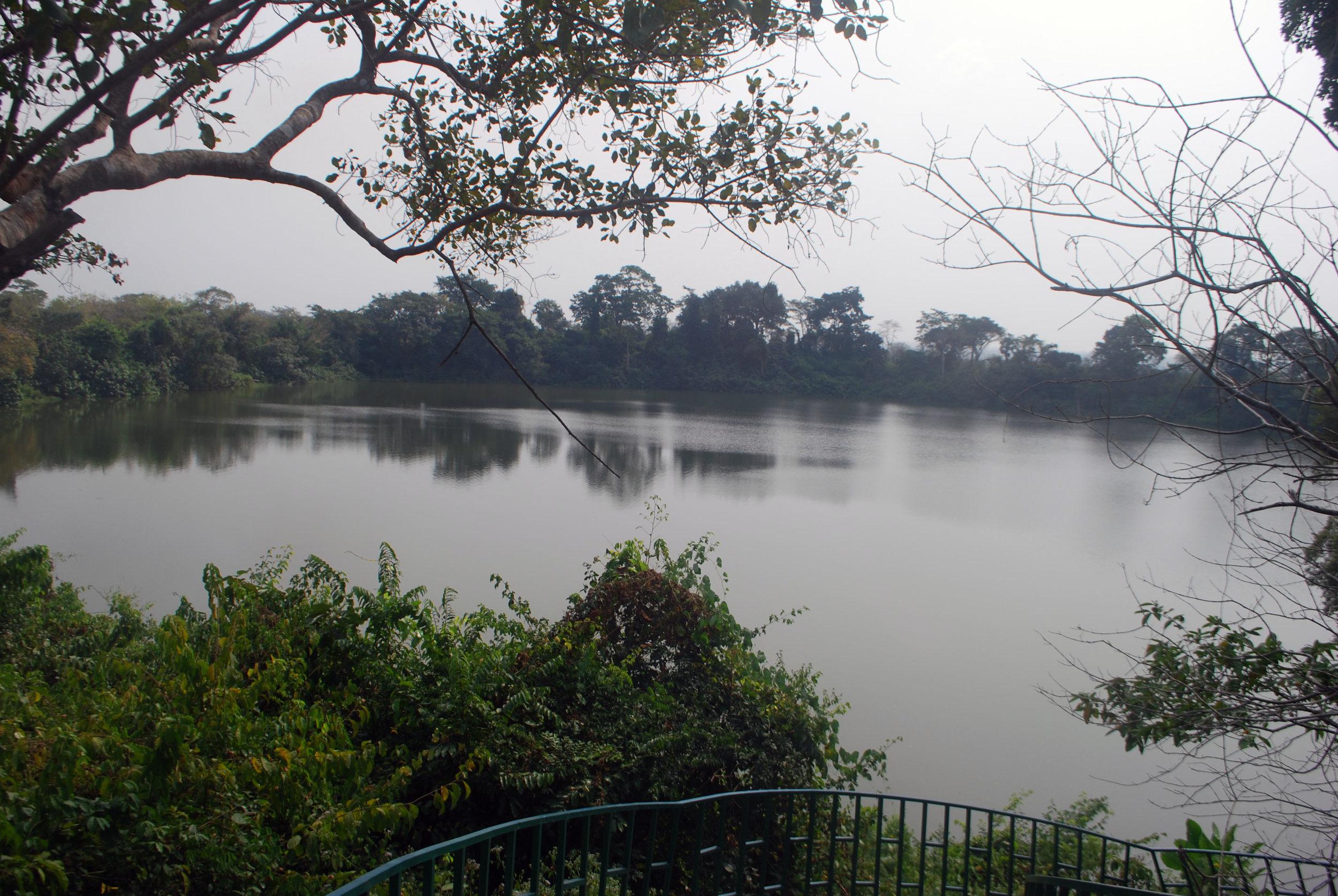 The Lac des Crocodiles...