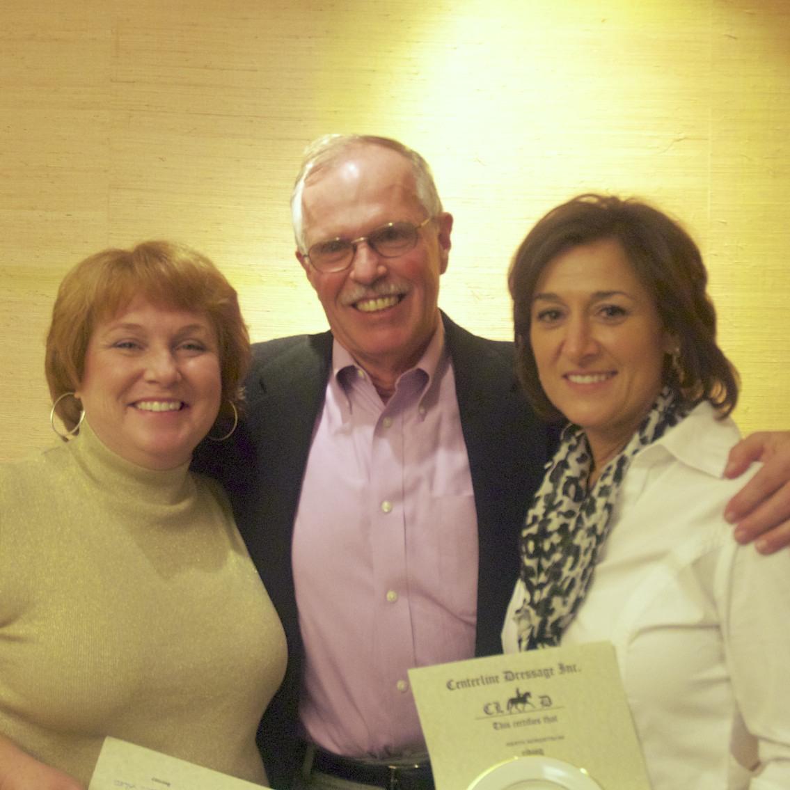 Paula Briney, Ted Sunder, & Judy Nordstrom