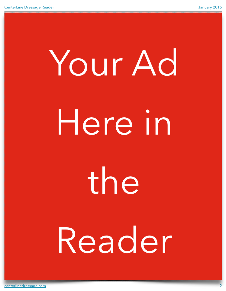 Full Page Ad in Reader