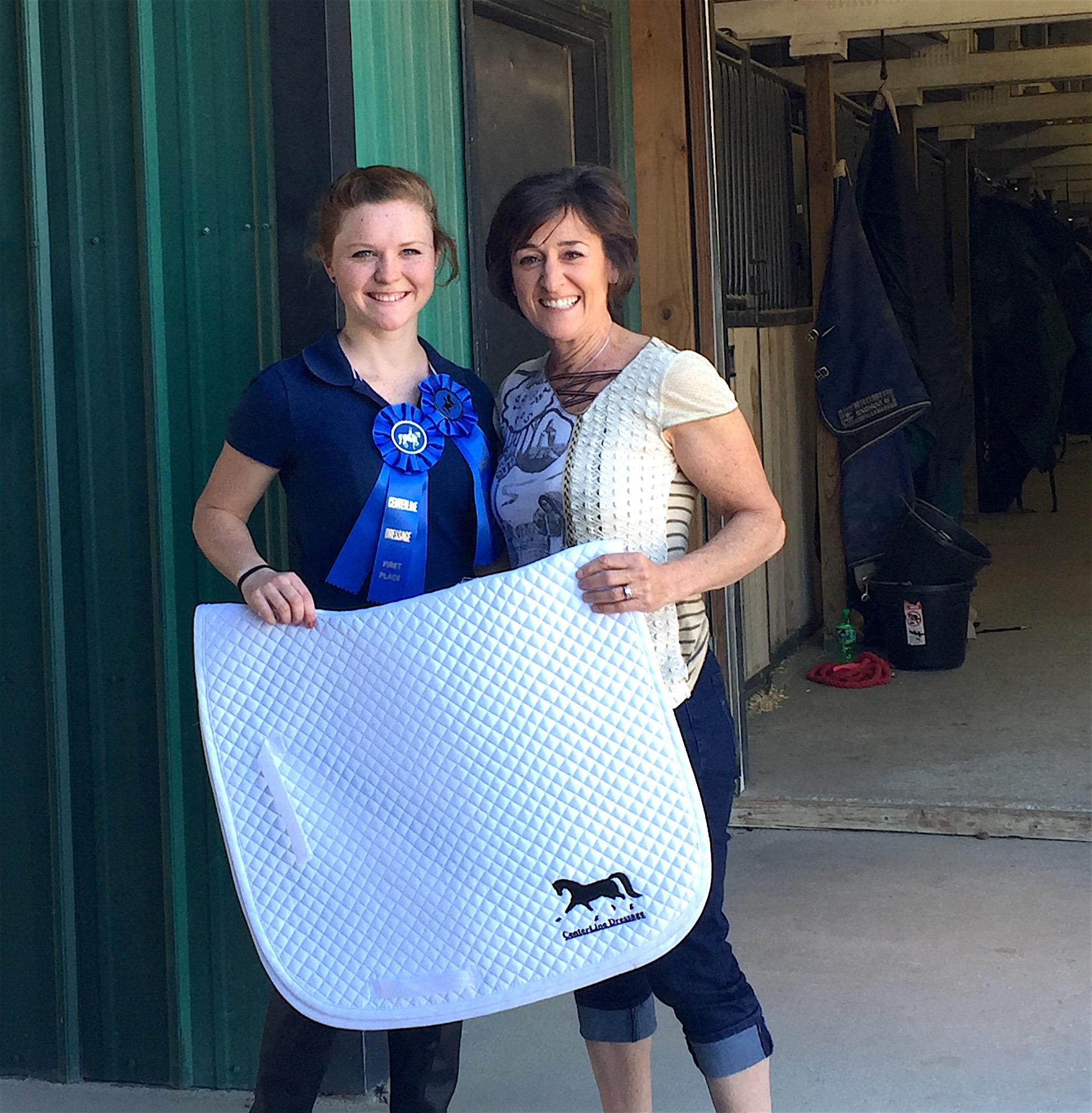 2016 IceBreaker High Point Winner Chrissy Jacobs w/ CLD President Judy Nordstrom