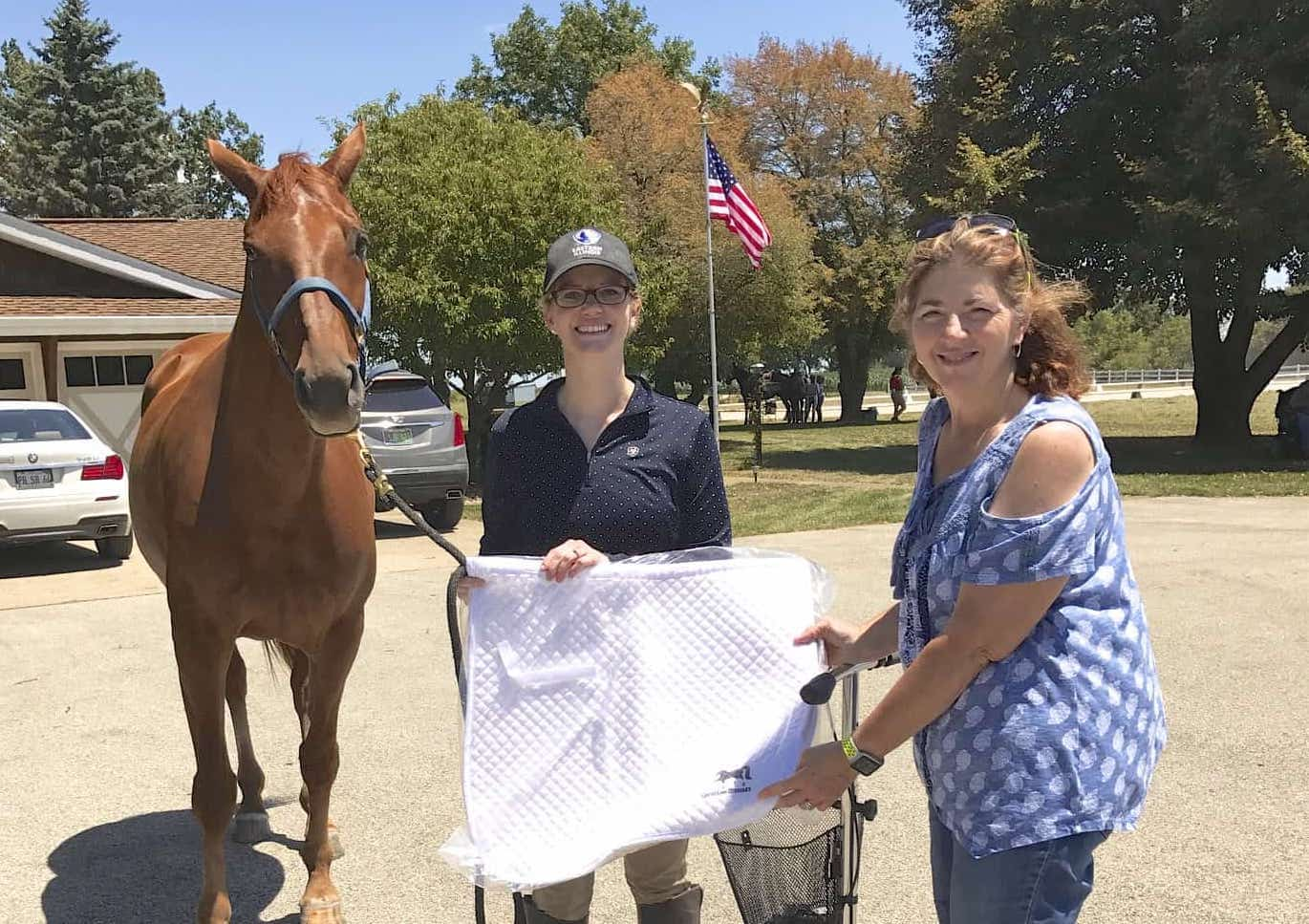 Teresa Litchfield with AA High Point  Sarah Pfleging Vester & Accolade