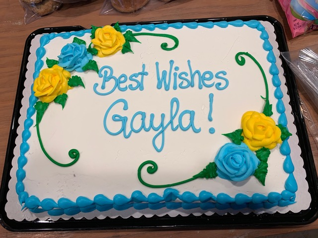 So Long, Gayla & thanks
