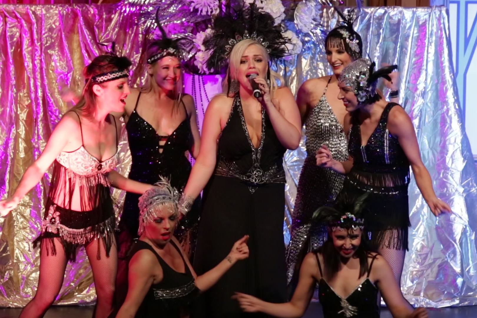 MAYFLOWER CLUB - A sizzling floorshow with Gatsby styling set during the time of prohibition.