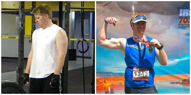 You've come far Rob! Thanks for the inspiration. Congrats on smashing your first half IronMan in 5:48!